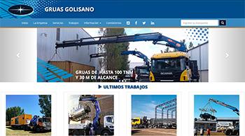 Detalle de www.gruasgolisano.com.ar/