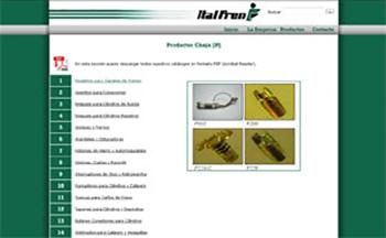 Detalle de www.italfren.com.ar/