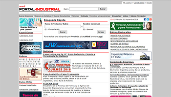 Detalle de www.portal-industrial.com.ar/