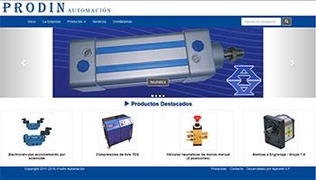 Detalle de www.prodinautomacion.com.ar/