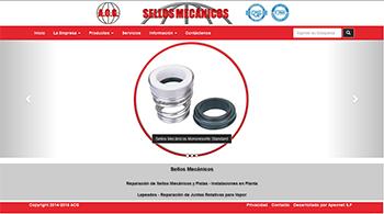 Detalle de www.sellosmecanicosacg.com.ar/
